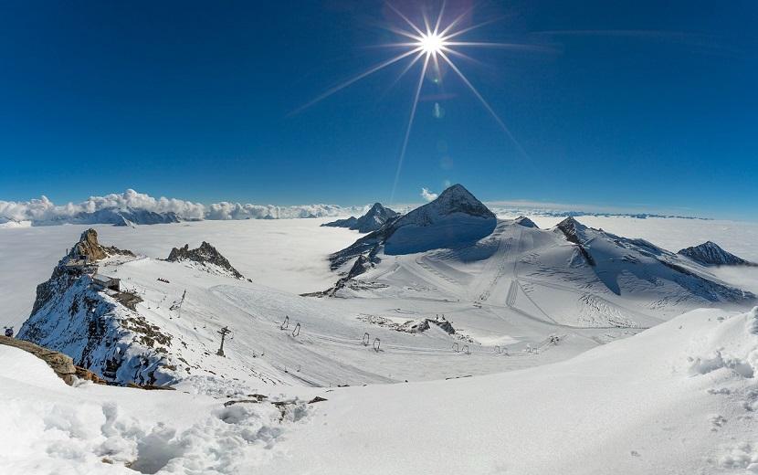 Tyrolskie lodowce – radość dopotęgi piątej