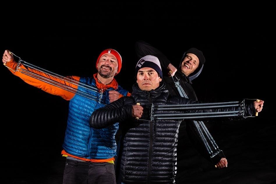 Expander pierwszy raz zimą – Ciesielski, Sułowski iTekieli oprzejściu legendarnej łańcuchówki