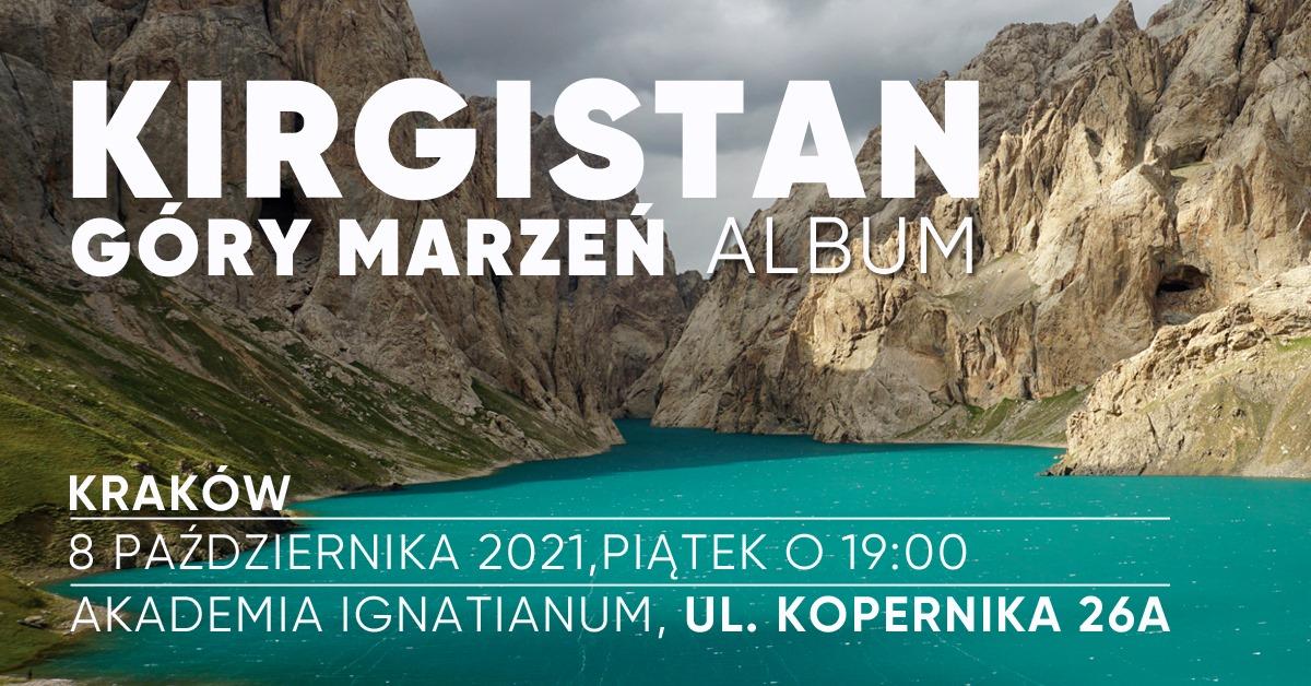 """Premiera albumu """"Kirgistan. Gdzie góry dotykają nieba"""""""